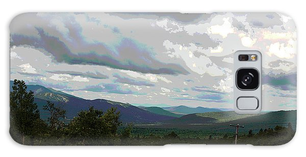 View From Mount Washington IIi Galaxy Case by Suzanne Gaff