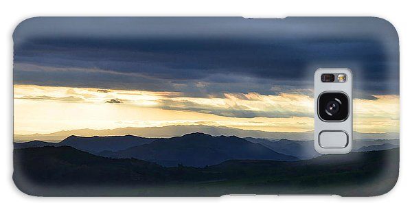 View From Palomar 9633 Galaxy Case by Sharon Soberon