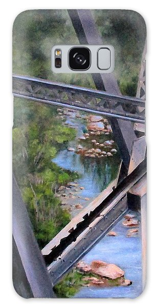 View From The Bridge--sedona, Az Galaxy Case by Mary McCullah