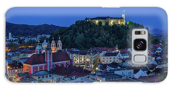 Galaxy Case featuring the photograph View From The Skyscraper #2 - Slovenia by Stuart Litoff