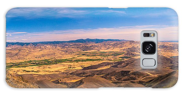 Haybale Galaxy Case - View From The Top by Robert Bales
