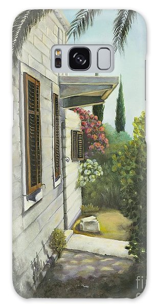View In A Croatian Garden Galaxy Case
