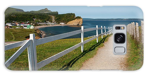 Galaxy Case featuring the photograph View In Perce Quebec by Elena Elisseeva