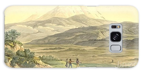 Central America Galaxy Case - View Of Cajambe by Pierre Antoine Marchais