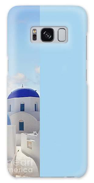 Caldera  Of Santorini Galaxy Case