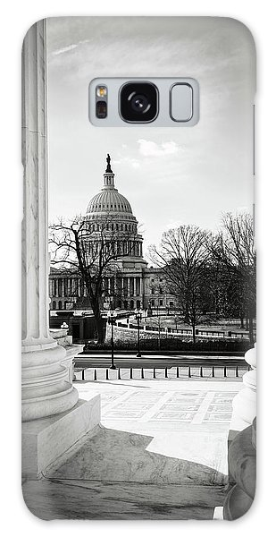 View Of Capitol Hill Through The Supreme Court Galaxy Case