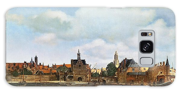 Jan Vermeer Galaxy Case - View Of Delft by Jan Vermeer