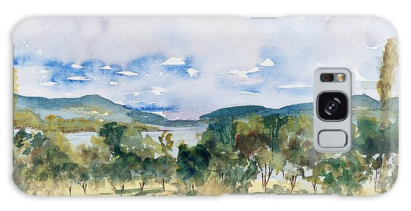 View Of D'entrecasteaux Channel From Birchs Bay, Tasmania Galaxy Case