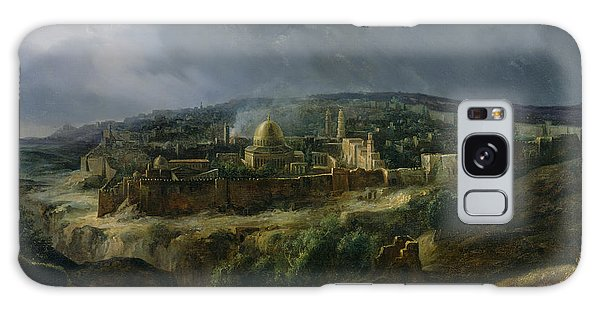 Camel Galaxy S8 Case - View Of Jerusalem From The Valley Of Jehoshaphat by Auguste Forbin