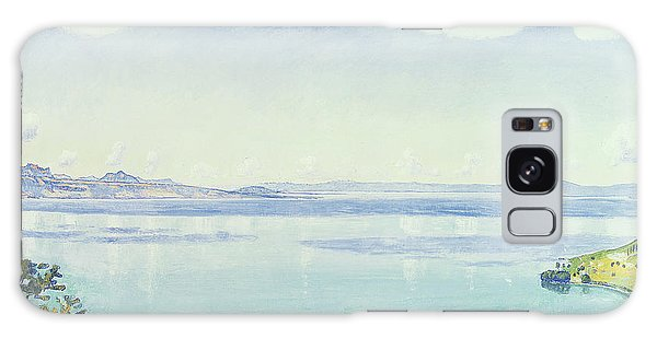 Lake Geneva Galaxy Case - View Of Lake Leman From Chexbres by Ferdinand Hodler