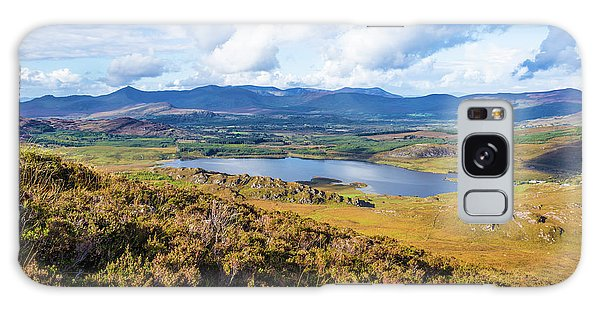 View Of Lough Acoose In Ballycullane From The Foothill Of Macgil Galaxy Case by Semmick Photo