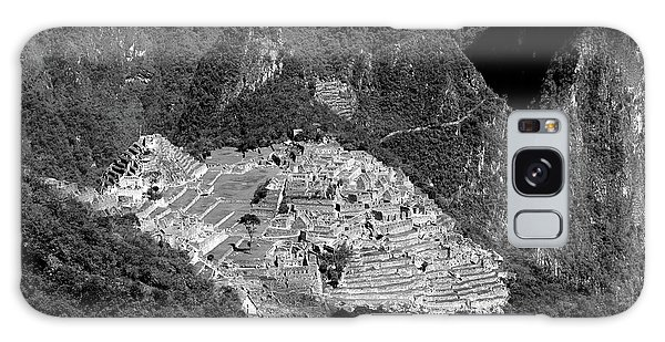 View Of Machu Picchu From The Inca Trail Galaxy Case