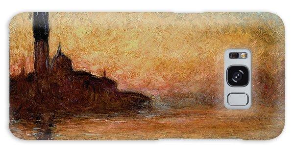 Impressionism Galaxy S8 Case - View Of San Giorgio Maggiore by Claude Monet