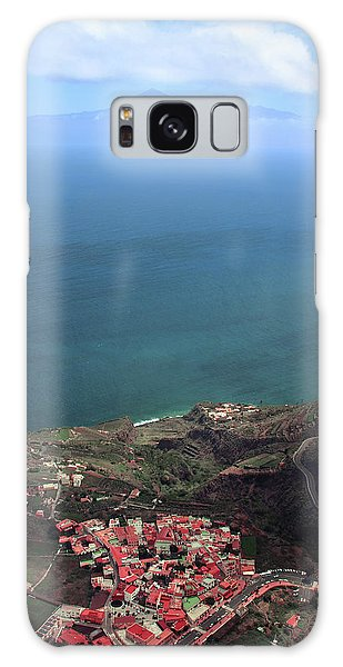 Canary Galaxy S8 Case - View Of Teide From La Gomera by Cambion Art