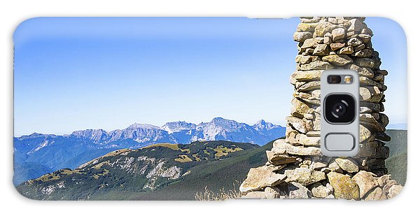 View Of The Apuan Alps Galaxy Case