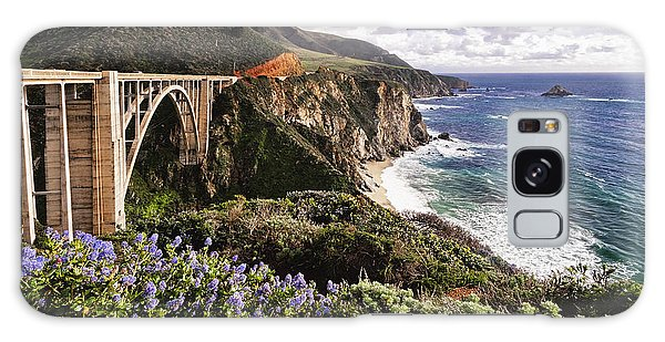 Monterey Galaxy Case - View Of The Bixby Creek Bridge Big Sur California by George Oze