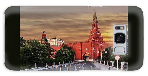 View Of The Borovitskaya Tower Of The Moscow Kremlin Galaxy Case