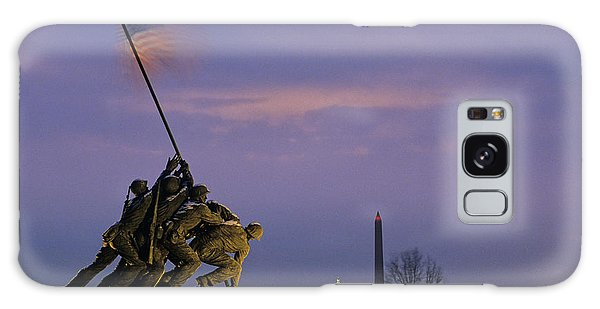 View Of The Iwo Jima Monument Galaxy Case