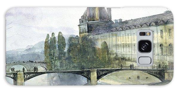 View Of The Pavillon De Flore Of The Louvre Galaxy Case