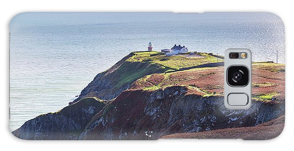 View Of The Trails On Howth Cliffs And Howth Head In Ireland Galaxy Case by Semmick Photo