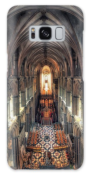 View Through Ely Cathedral Galaxy Case