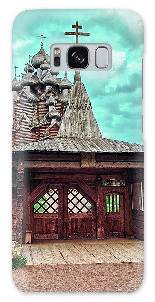 views of Holy gates and Church of the Intercession of the blessed virgin Mary Galaxy Case