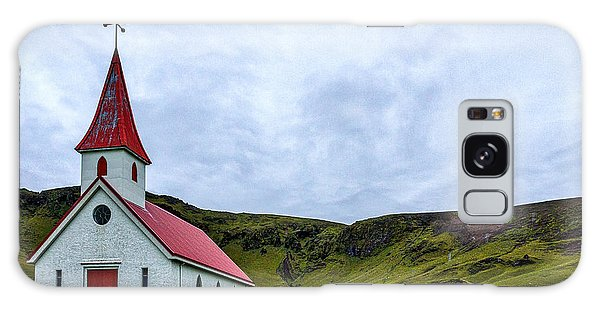 Vik Church And Cemetery - Iceland Galaxy Case