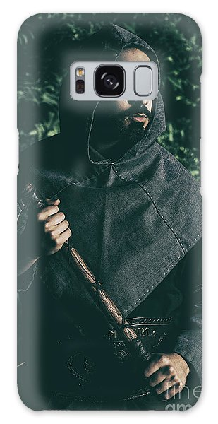 Cosplay Galaxy Case - Viking Man With Axe by Amanda Elwell
