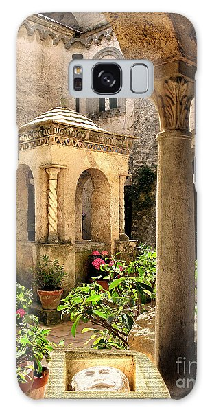 Villa Cimbrone. Ravello Galaxy Case