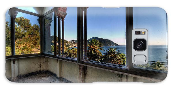 Villa Of Windows On The Sea - Villa Delle Finestre Sul Mare II Galaxy Case