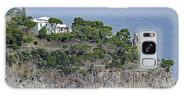 Villa Owned By Sophia Loren On The Amalfi Coast In Italy Galaxy Case