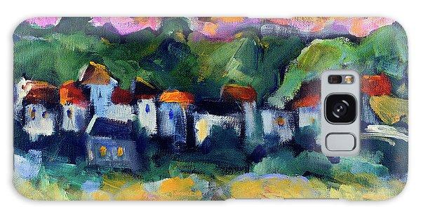 Village At Sunset Galaxy Case by Maxim Komissarchik