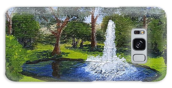 Village Fountain Galaxy Case
