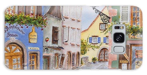 Village In Alsace Galaxy Case by Mary Ellen Mueller Legault