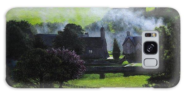 Village In North Wales Galaxy Case