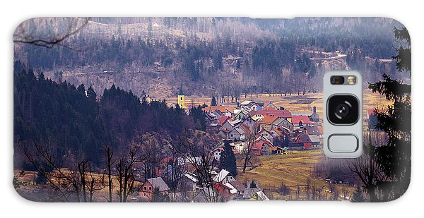 Village Of Lokve In Gorski Kotar  Galaxy Case