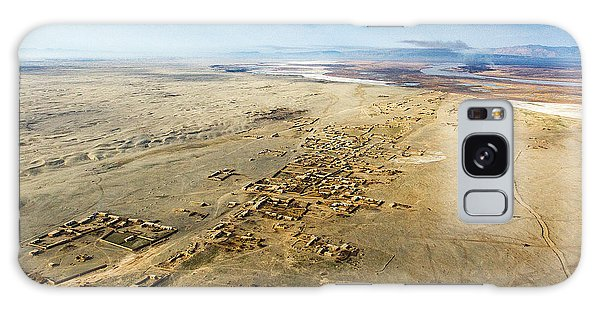 Village Toward Amu Darya River Galaxy Case
