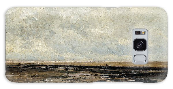 Villerville Beach In Normandy Galaxy Case