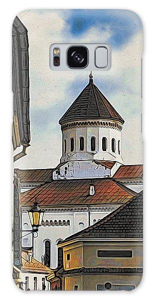 Galaxy Case - Vilnius Old City by Steven Richman