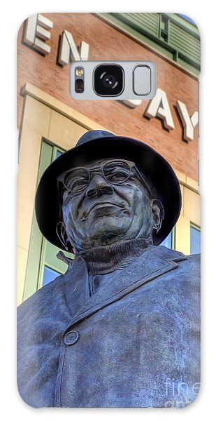 Vince Lombardi Galaxy Case by Joel Witmeyer