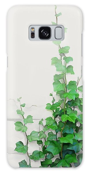 Vines By The Wall Galaxy Case by Ivana