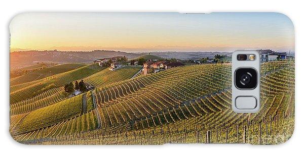 Vineyard At Barbaresco, Italy Galaxy Case