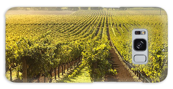 Vineyard In Napa Valley Galaxy Case