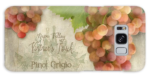 Vineyard - Napa Valley Vintner's Touch Pinot Grigio Grapes  Galaxy Case by Audrey Jeanne Roberts
