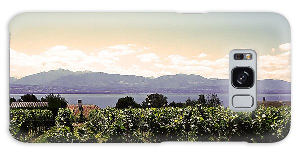 Vineyard On Lake Geneva Galaxy Case