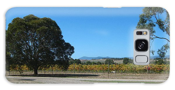 Vineyard Trees Galaxy Case