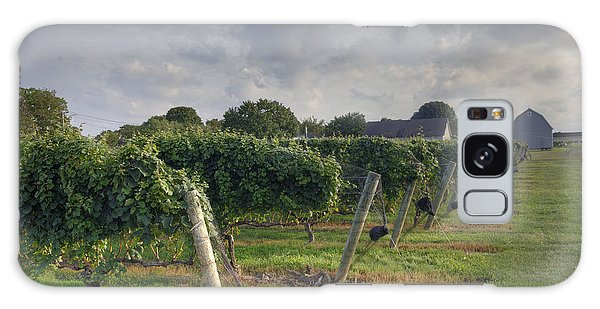 Vineyard With  Barn Galaxy Case