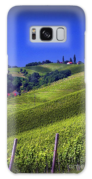 Vineyards Of Jerusalem Slovenia Galaxy Case