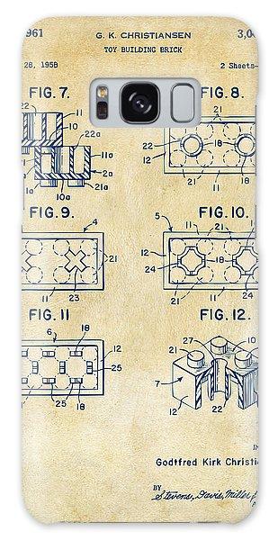 Vintage 1961 Lego Brick Patent Art Galaxy Case