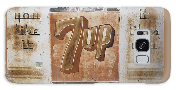Vintage 7 Up Sign Galaxy Case